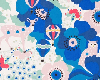 Japanese fabric by Kiyohara - oxford cotton fabric - 1/2 YD