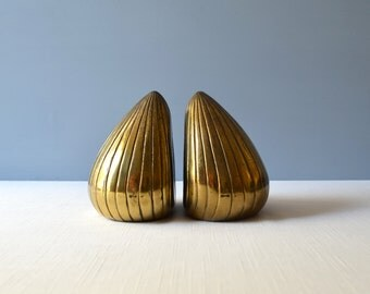 2 Vintage Ben Seibel Seeds Bookends for Jenfred-Ware