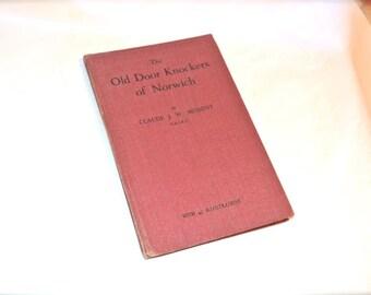 Old Door Knockers Book 1948 England Hardcover