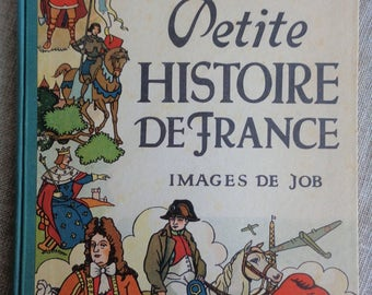 Petite Histoire De France 1940 French Language Children's History of France Book Printed in France Good to Fair Condition
