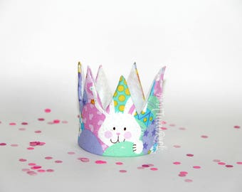 Easter Crown // Bunny Crown // Ready to Ship // by Born TuTu Rock