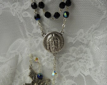 Holy Face Chaplet~Rosary Chaplet,Holy Face of Jesus,Golden Arrow,Golden Arrow Prayer,Holy Face Devotion,Reparation to the Holy Face of Jesus