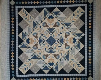 Country Blues King Size Quilt