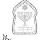 Hanukkah Menorah Candles ...