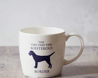 Border Terrier Mug - Border-Terrier Gifts - Gifts for Him - Coffee Mug - Ceramic Cup - Hostess Gift - Housewarming Gift - Birthday Present