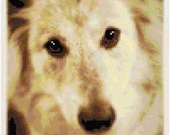 Hello There (Dog) Cross Stitch Pattern **Digital Download**