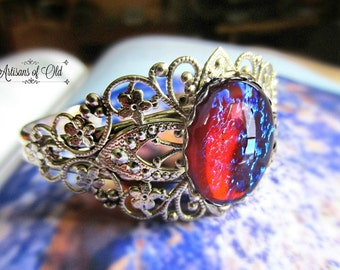 Dragons Breath Opal Cuff