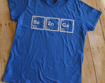 The Big Bang Theory - Bazinga - Periodic Table of Elements shirt