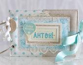 Baby Boy Memory Book , Custom order for Viki