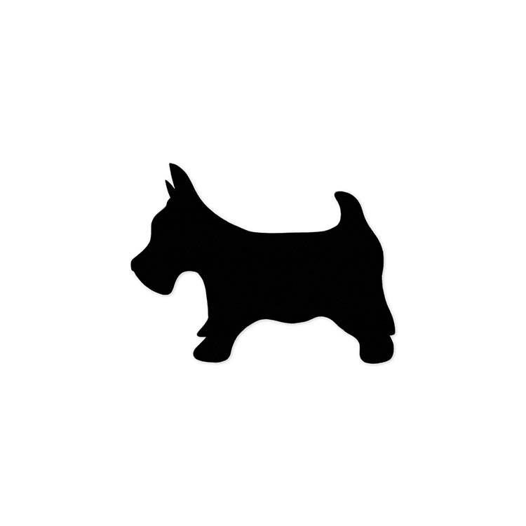 Paper Dog Die Cut, Scottish Terrier, Westie, Scotty, Puppy Party ...