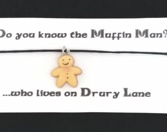 SHREK themed BRACELET on waxed cotton cord Or Silver Plated Key Ring Or Silver Plated Necklace Or Black Velveteen Choker