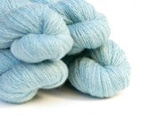 Remake: Reclaimed Laceweight Merino Yarn LOT, Robin's Egg Blue, 1631 Yards