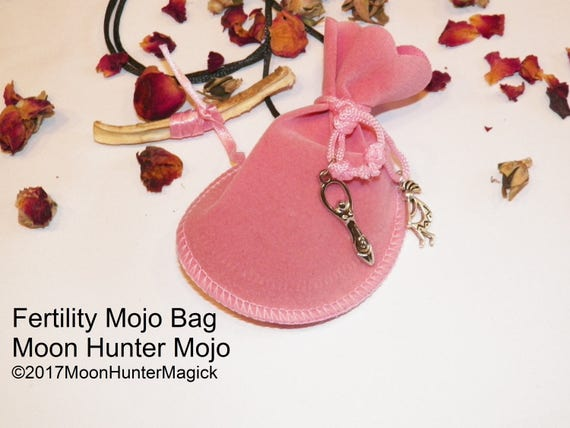 Fertiltiy Mojo Bag Moon Hunter Mojo Hand Made