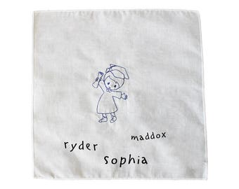 Kindergarten Signing Cloth