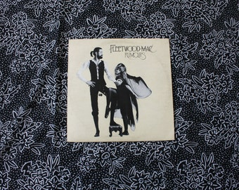 Fleetwood Mac - Rumours - Vintage Vinyl LP Record Album - 1977  Warner Bros. Records. 70s Classic Rock Album
