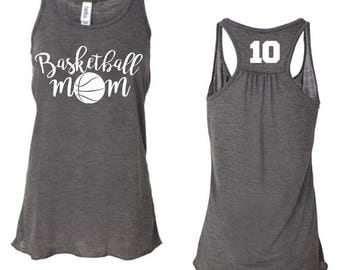 Custom Basketball Mom T shirt, Basketball Mom Tank, Basketball Mom, Basketball Mom Tee, Basketball Tank, Basketball Mom Shirt, Sports Mom