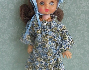 CORDUROY DOLL COAT, Handmade for all 7-8in/17-20cm dolls like