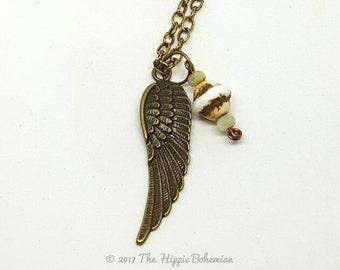 Long Boho Chic Layering Necklace - Long Necklace - Boho Chic Necklace - Layering Necklace