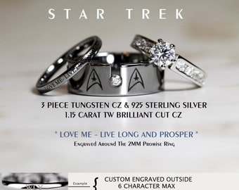Star trek wedding Etsy