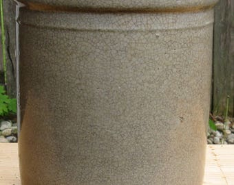 Old Time Stoneware Crock