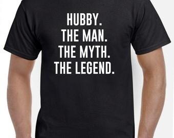 Hubby Christmas Gift-Funny Hubby Shirt Tshirt Husband