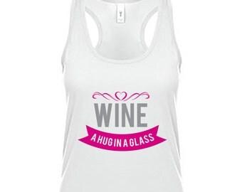 Wine Tank Top - A hug in a glass