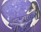 Art Print Moon Goddess Gr...