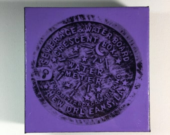 Water Meter Purple