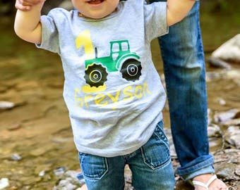 Custom - personalized - birthday - shirts- for- babies - toddlers- kids- and teens!