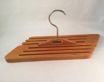 Stak Rak Wood Hanger Style Tie/Belts/Jewelry Rack