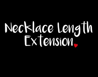 Necklace Length Extension - Spoon Your Heart Out