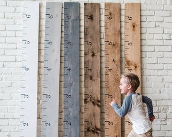 Austin LOCAL PICK UP: Growth Chart Ruler | Height Chart | Growth Ruler | Austin Tx Ruler | Rustic Home Decor | Custom Growth Chart | Family