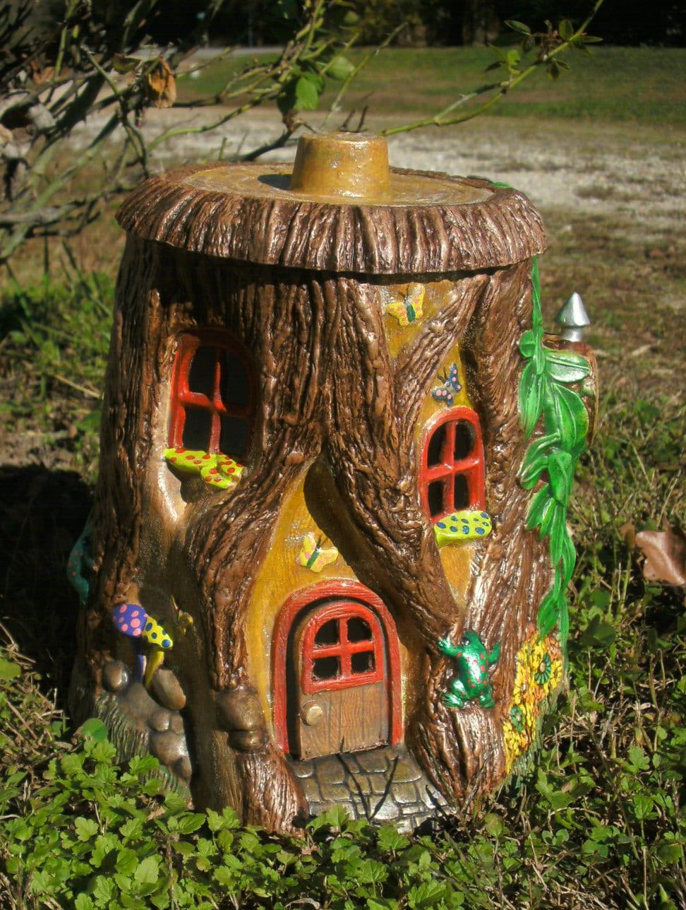 Outdoor Fairy House Fairy Door Gifts For Her Garden Fairy