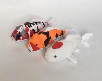 Sea bunny slug plush for Koi fish plush