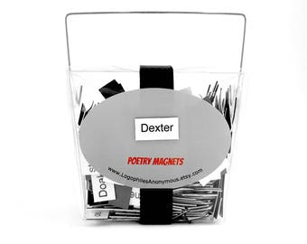 Dexter Poetry Magnets - Refrigerator Word Quote Magnets