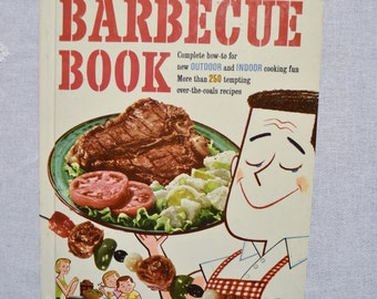 Barbeque Cookbook Better Homes and Gardens Vintage Recipe Book PanchosPorch