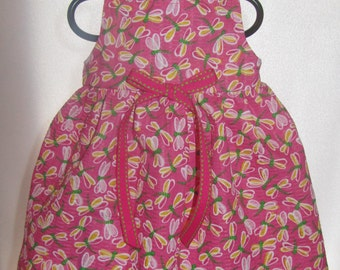 READY to SHIP Pink Dragonflies Doll Dress will fit Bitty Baby or any 15 inch doll