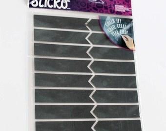 Chalk Tab Stickers - 32 Pieces - Chalk Flag Stickers -