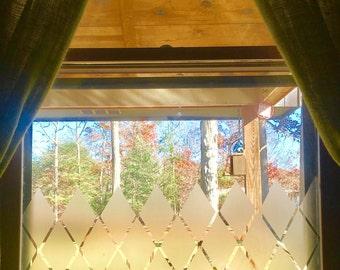 Diamond Window Privacy Cover
