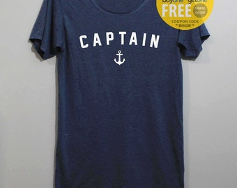 Captain Shirt TShirt T Shirt Tee Shirts
