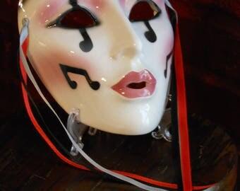 Key Mardi Gras Mask of Note