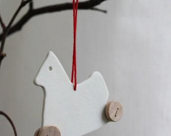 Pferdinand - the white nordic horse