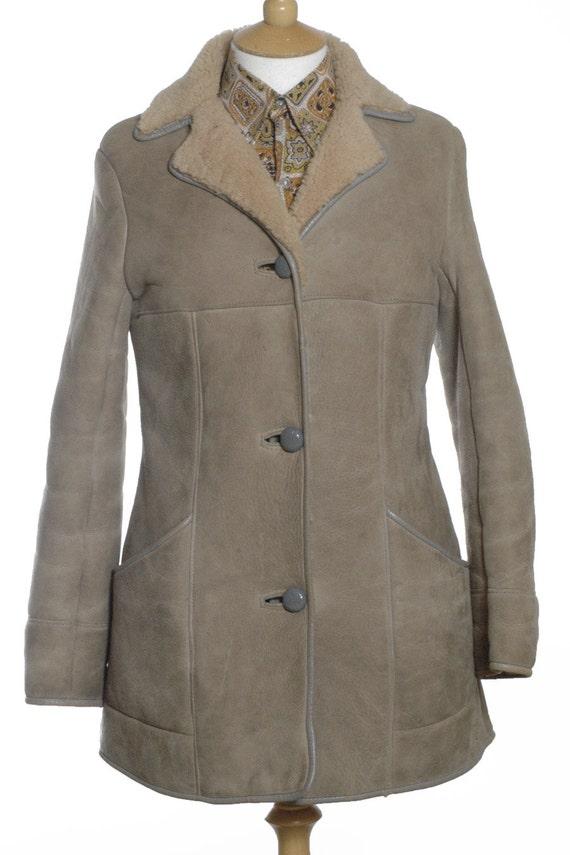 Vintage Baily's Of Glastonbury Sheepskin Coat 12