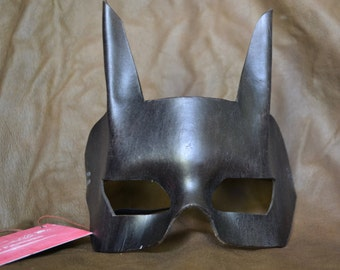 Batman Style Leather Mask