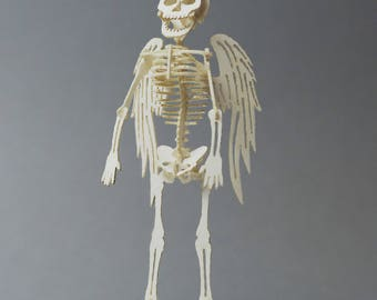 Angel Tiny Bare Bones Skeleton Puzzle