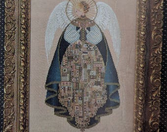 Lavender & Lace ~ Angel of Love ~ Counted Cross Stitch Pattern Chart