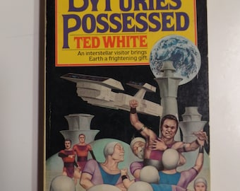 By Furies Possessed by Ted White Pocket Books 1980 Vintage Sci-Fi Paperback