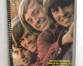 Meet The Monkees Album Cover Notebook Spiral Journal  Handmade