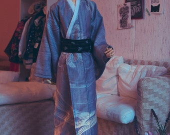 BJD SD boy GREY Yukata