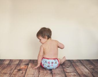GEN-Y Classic Diaper Cover in Into the Woods Print